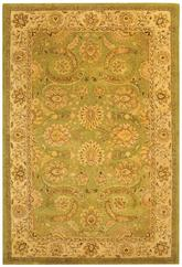 Safavieh Antiquity AT24A Green and Ivory