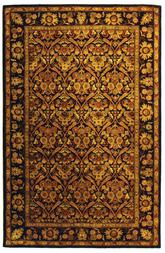 Safavieh Antiquity AT51B Dark Plum and Gold