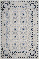 Safavieh Bella BEL154A Ivory and Blue