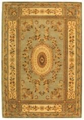 Safavieh Bergama BRG174A Light Blue and Ivory