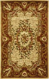 Safavieh Classic CL223A Ivory and Red