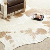 Safavieh Cow Hide COH211A Brown and White