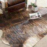 Safavieh Cow Hide COH211C Black and Brown