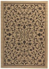Safavieh Courtyard CY2098-3901 Sand and Black