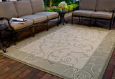 Safavieh Courtyard CY2665-1E01 Natural and Olive