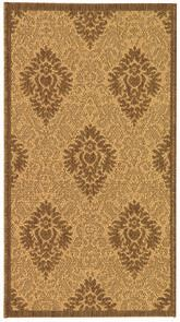 Safavieh Courtyard CY2714-3001 Natural and Brown