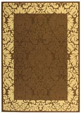 Safavieh Courtyard CY2727-3409 Chocolate and Natural