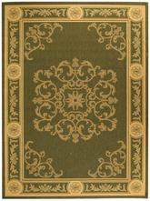 Safavieh Courtyard CY2914-1E06 Olive and Natural