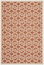 Safavieh Courtyard CY6015241 Terracotta and Beige