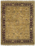 Safavieh Heritage HG166A Camel and Plum