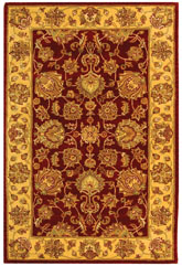 Safavieh Heritage HG343C Red and Gold