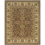 Safavieh Heritage HG451A Brown and Ivory