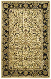 Safavieh Heritage HG644C Ivory and Black