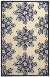 Safavieh Chelsea  HK361C Ivory and Blue