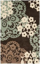 Safavieh Modern Art MDA612A Brown and Multi