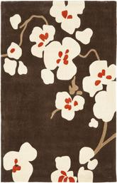 Safavieh Modern Art MDA614A Brown and Ivory