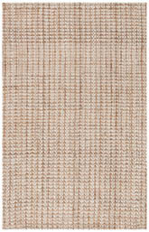 Safavieh Natural Fiber NF186B Ivory and Light Brown