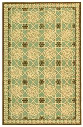 Safavieh Newport NPT423B Teal and Ivory