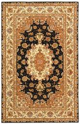 Safavieh Persian Court PC119B Navy and Ivory