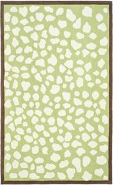 Safavieh Safavieh Kids SFK219A Green and Ivory