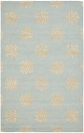 Safavieh Soho SOH213B Light Blue and Beige