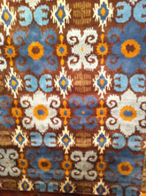 Safavieh Soho  SOH445B Brown and Blue