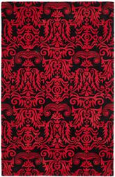 Safavieh Soho  SOH452A Black and Red