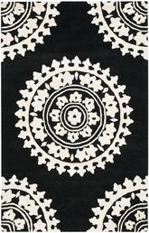 Safavieh Soho  SOH732D Black and Ivory