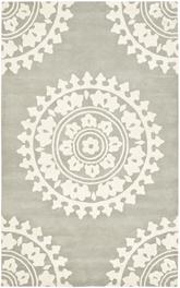 Safavieh Soho SOH732K Light Grey and Ivory