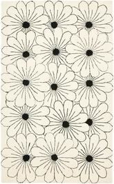 Safavieh Soho  SOH768B Ivory and Black