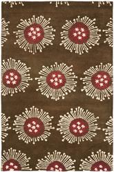 Safavieh Soho  SOH852A Brown and Multi