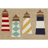 Trans Ocean Frontporch Lighthouses Natural 140112
