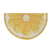 Trans Ocean Frontporch Lemon Slice Yellow 155609