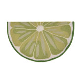 Trans Ocean Frontporch Lime Slice Green 155706