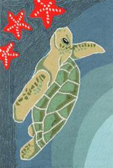 Trans Ocean Frontporch Sea Turtle Ocean 1431/04