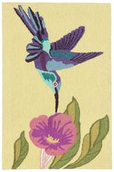 Trans Ocean Frontporch Hummingbird Yellow 1527/09