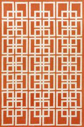 Trans Ocean Capri Oriental Square Orange 1609/17