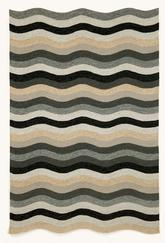 Trans Ocean Carlton Waves Black 1302/48