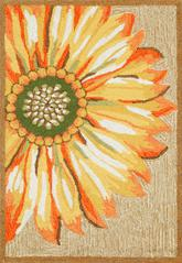 Trans Ocean Frontporch Sunflower Yellow 1417/09