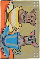 Trans Ocean Frontporch Chihuahua Tea Party M 1521/44