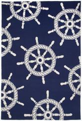 Trans Ocean Frontporch Ship Wheel Navy 1456/33