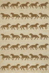 Trans Ocean Frontporch Horses Brown 1460/19