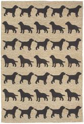 Trans Ocean Frontporch Doggies Black 1467/48