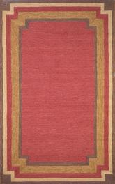 Trans Ocean Ravella Border Red 1905/24