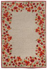 Trans Ocean Ravella Poppies Red 2259/24