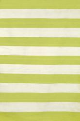 Trans Ocean Sorrento Rugby Stripe Lime 6302/16