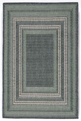 Trans Ocean Terrace Etched Border Aqua 1736/73