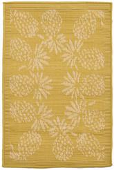 Trans Ocean Terrace Pineapple Bdr Yellow 1774/59