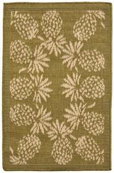 Trans Ocean Terrace Pineapple Bdr Green 1774/76