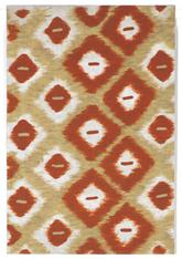 Trans Ocean Visions Ii Ikat Diamonds Red 3095/24